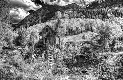 Photograph - Crystal Mill 15 by ELDavis Photography