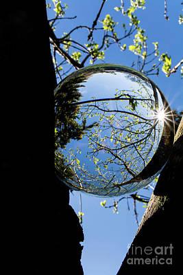Crystal Reflection Art Print
