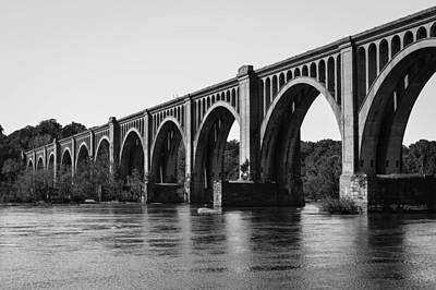 Photograph - Csx A-line Bridge by Aaron Dishner