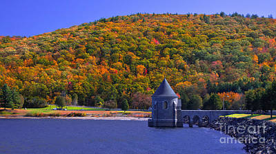 Photograph - Sayville Dam. Barkhamstead, Connecticut by New England Photography