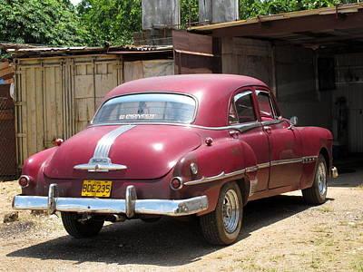 Cuban Cars 2 Art Print
