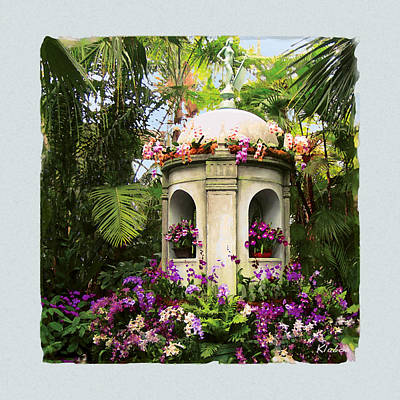 Digital Art - Cuban Orchid Show by David Klaboe