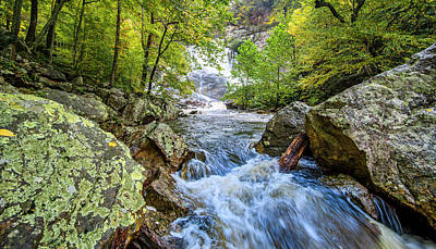 Photograph - Cullasaja Falls by Andy Crawford