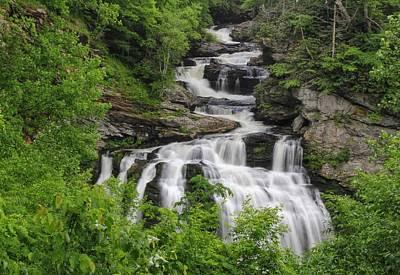 Photograph - Cullasaja Falls by Chris Berrier