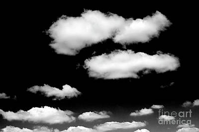Photograph - Cumulus Clouds With Natural Patterns by Jim Corwin