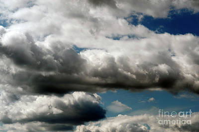 Photograph - Cumulus Clouds With Vertical Growth, by Jim Corwin