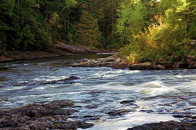 Current River Photograph - Current River Rapids by Bill Morgenstern