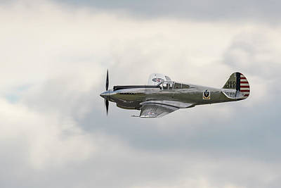 Photograph - Curtiss-wright P-40c Warhawk by Gary Eason