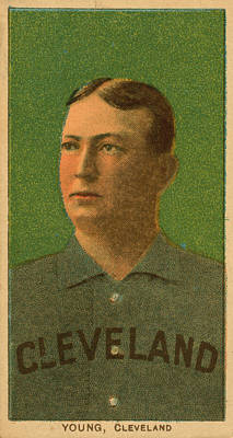 Painting - Cy Young, Cleveland by Vintage Pix