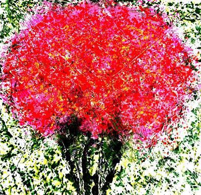 Painting - D by Baljit Chadha