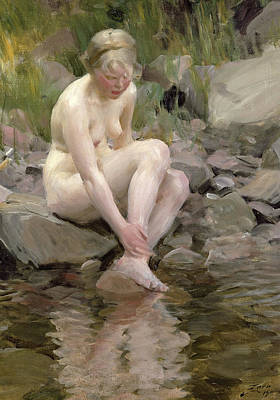 Anders Zorn Painting - Dagmar by Anders Zorn