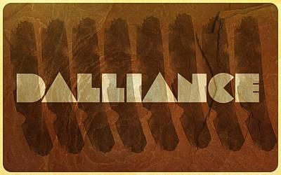 Dalliance Art Print by Andrea Barbieri