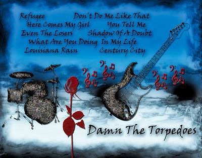 Digital Art - Damn The Torpedoes by Michael Damiani