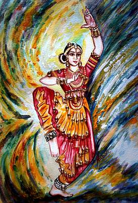 Lady Painting - Dance 3 by Harsh Malik