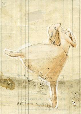 Ballet Dancers Digital Art - Dance by H James Hoff