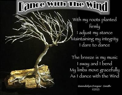 Dance With The Wind Art Print