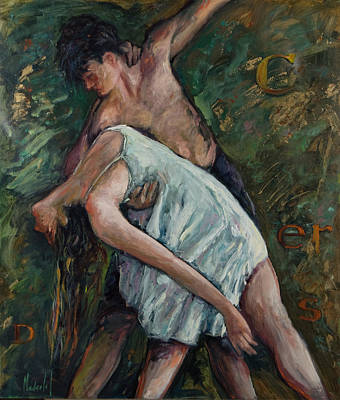 Painting - Dancers by Rick Nederlof