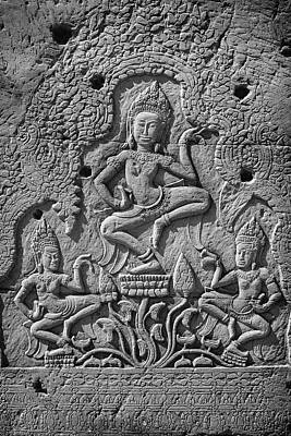 Photograph - Dancing Apsara's by David Cote