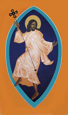 Dancing Christ Art Print by Mark Dukes