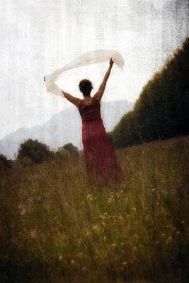 Shawl Photograph - Dancing by Joana Kruse