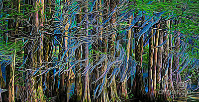 Photograph - Dancing Trees by Paulette Thomas