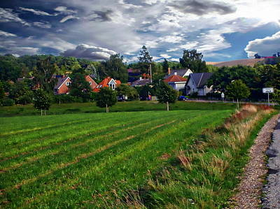 Photograph - Danish Landscape by Anthony Dezenzio
