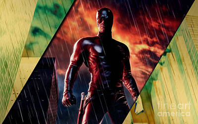 Daredevil Collection Art Print by Marvin Blaine