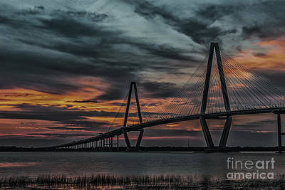 Photograph - Dark And Stormy Sunset by Dale Powell