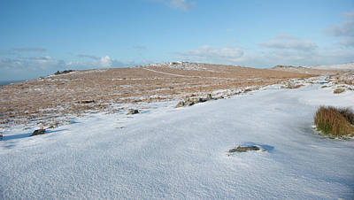 Photograph - Dartmoor In The Snow Iv by Helen Northcott