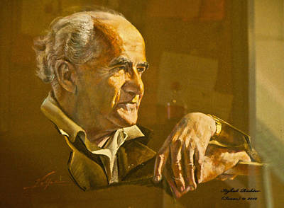 David Ben Gurion - Israel First Pm Art Print
