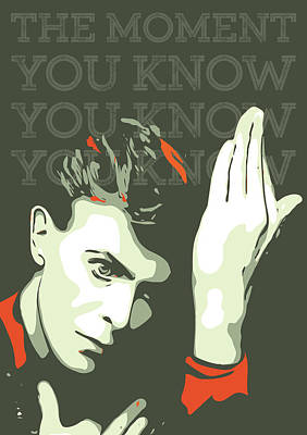 Musician Royalty-Free and Rights-Managed Images - David Bowie by Greatom London