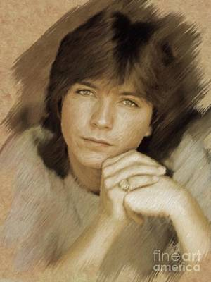 Musicians Royalty Free Images - David Cassidy, Actor Royalty-Free Image by Mary Bassett