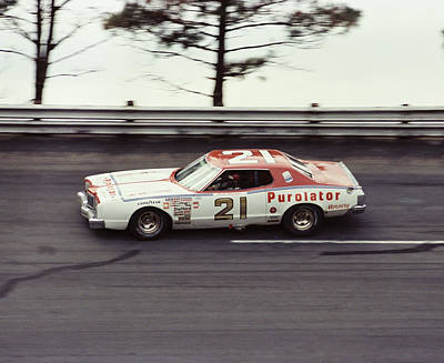David Pearson # 21 Purolator Mercury 1977 Atlanta 500 Art Print