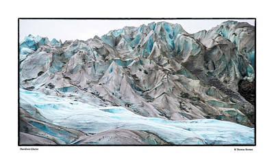 Photograph - Davidson Glacier by R Thomas Berner