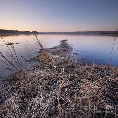 Herring Photograph - Dawn At Upper Herring Lake by Twenty Two North Photography