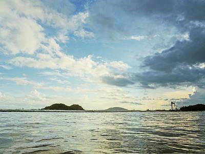 Photograph - Dawn Binh Hai Beach by Tran Minh Quan