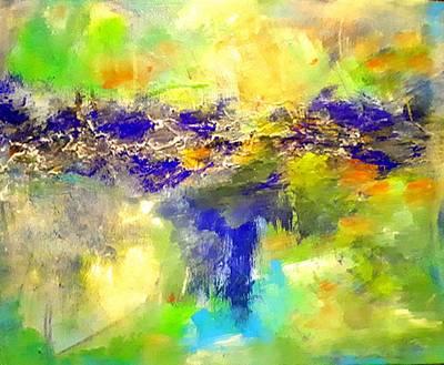 Painting - Dawn Breaking 1 by Nikki Dalton