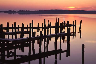 Dawn On The Bay Art Print by Eric Foltz