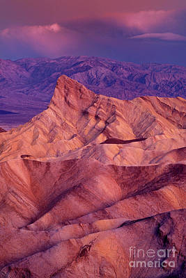 Photograph - Dawn Zabriski Point Death Valley National Park California by Dave Welling