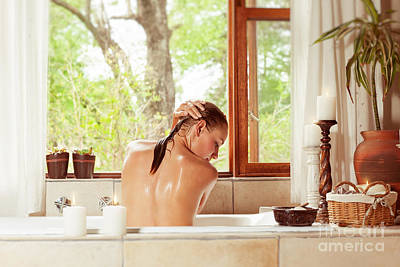 Photograph - Day Spa by Anna Om