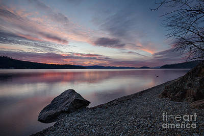 Photograph - Days End by Idaho Scenic Images Linda Lantzy