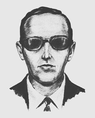 Law Enforcement Drawing - D.b. Cooper by War Is Hell Store