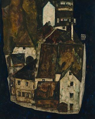 Dead City IIi Art Print by Egon Schiele