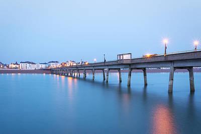 Town Pier Photograph - Deal Pier by Ian Hufton