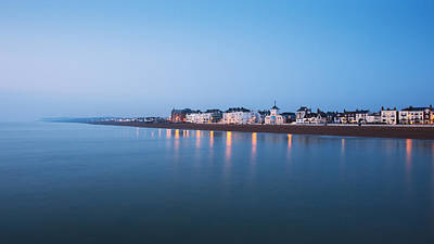 Town Pier Photograph - Deal Seafront by Ian Hufton