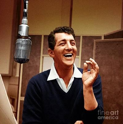 Frank Sinatra Photograph - Dean Martin - Capitol Records Recording Studio by The Titanic Project