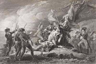 Death Of General Montgomery, Battle Of Art Print