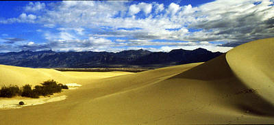 Photograph - Death Valley Dunes by Gary Brandes