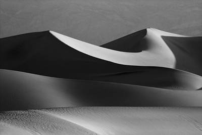Death Valley Dunes  Art Print by Matt  Trimble