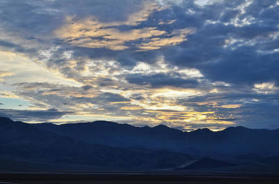 Photograph - Death Valley National Park Sunset by Kyle Hanson